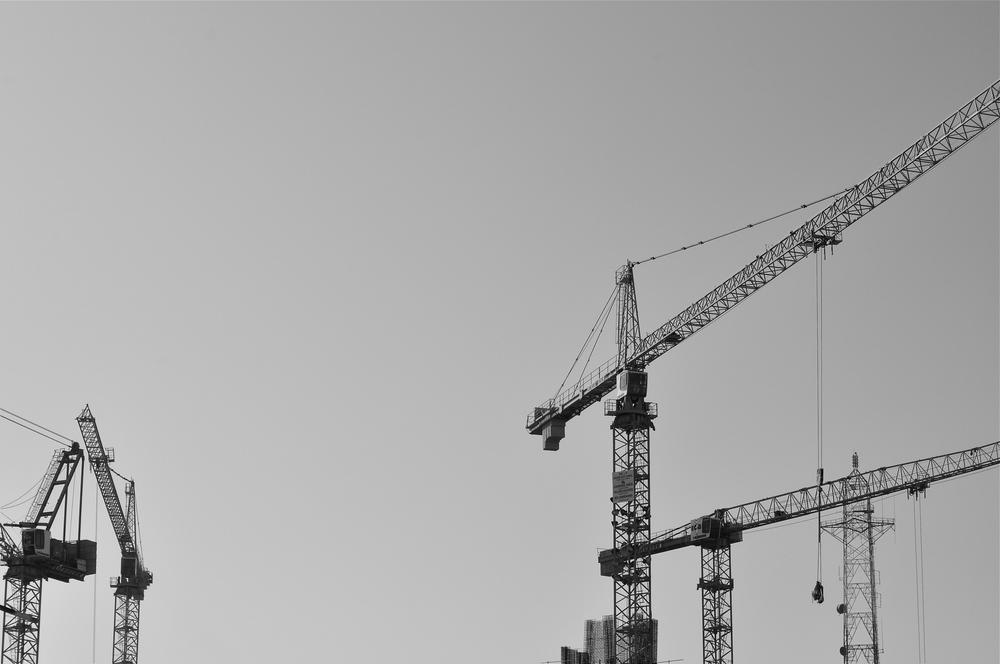 Cranes, Riyadh 2014