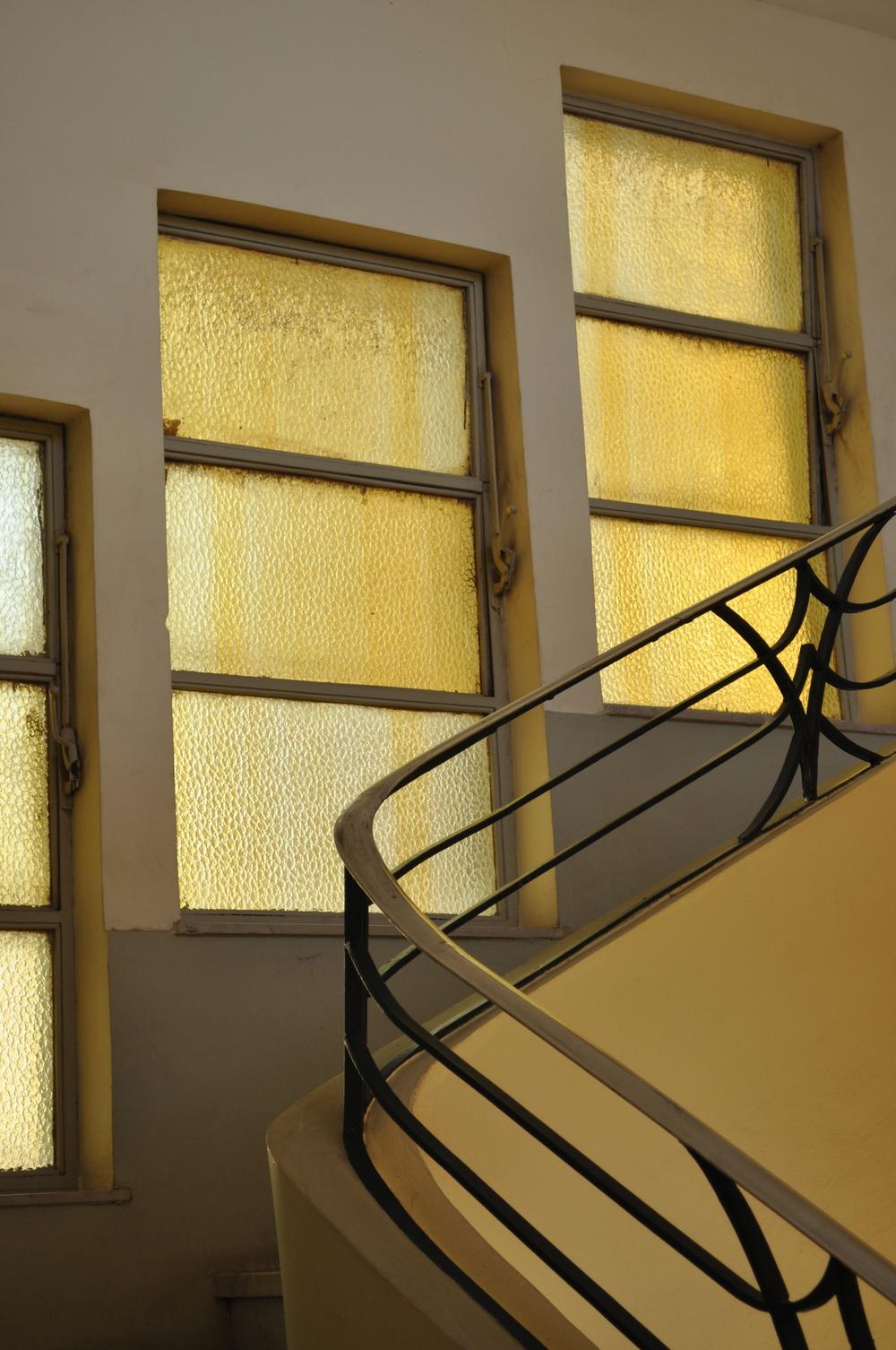 Stairwell, Cairo 2013