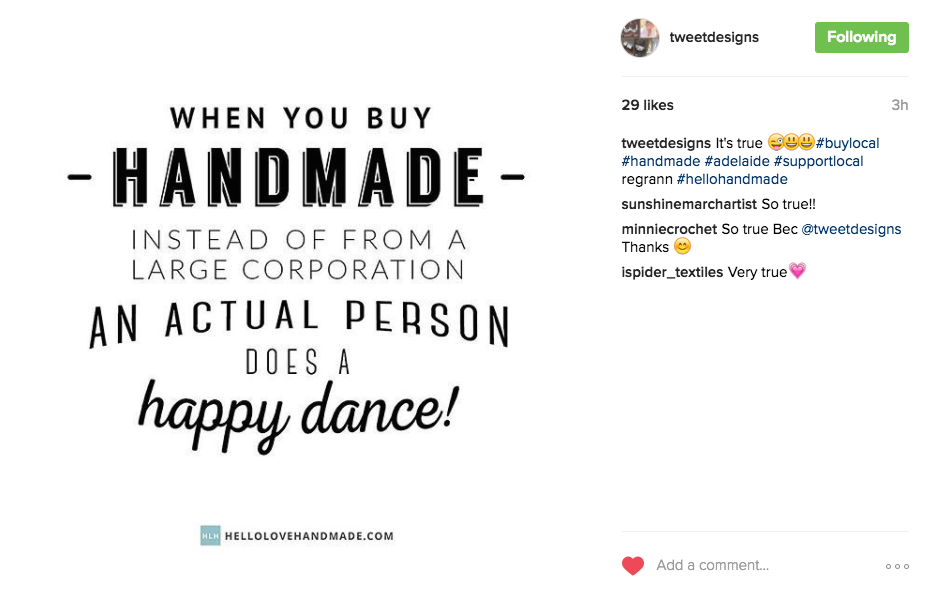 This Instagram post from @tweetdesigns nails it (from a hellolovehandmade.com card).