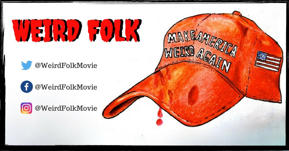 Weird Folk marketing cap
