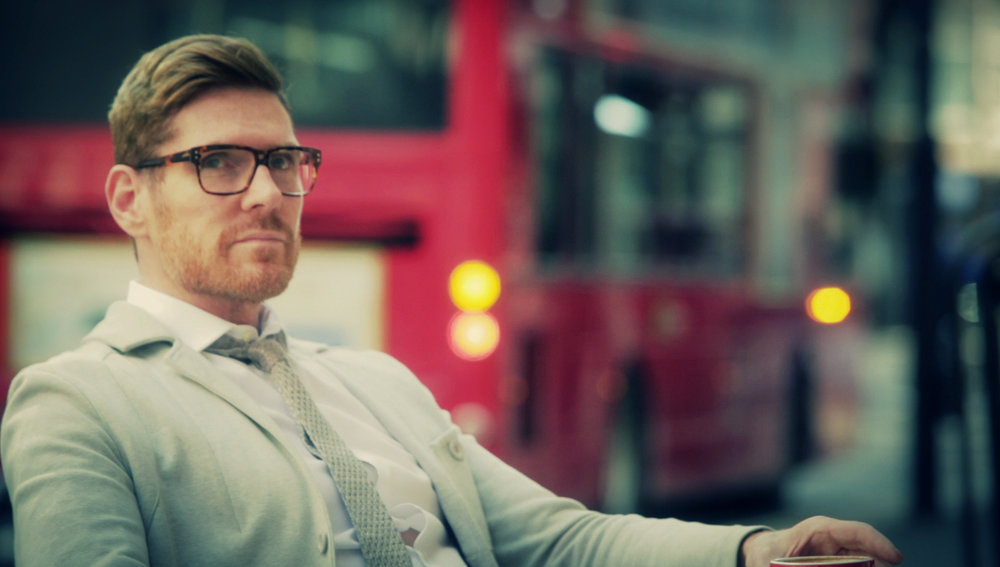 David Stuart and London bus