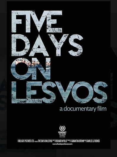Poster for Five Days on Lesvos documentary film