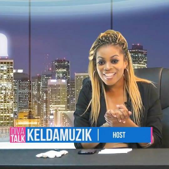 Keldamuzik hosts Diva Talk indie TV talk show on youtube