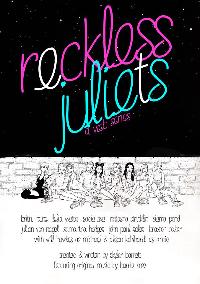 Poster key art for Reckless Juliets