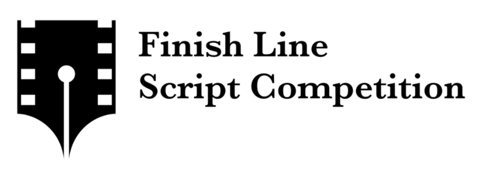 Finish line script competition logo