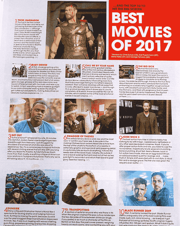 Best movies of 2017 Swagger of Thieves