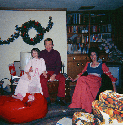 Indie true crime documentary Abducted in Plain Sight. Jan and Berchtold and Mary Ann Broberg Christmas 1973-min.png