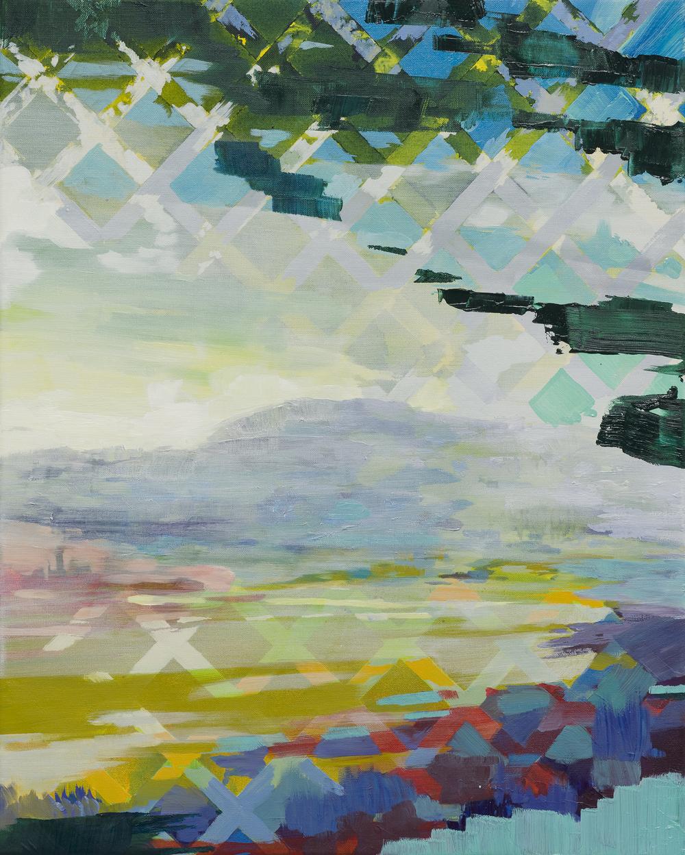 Tilt, 2014, 50 x 40 cm, oil on canvas