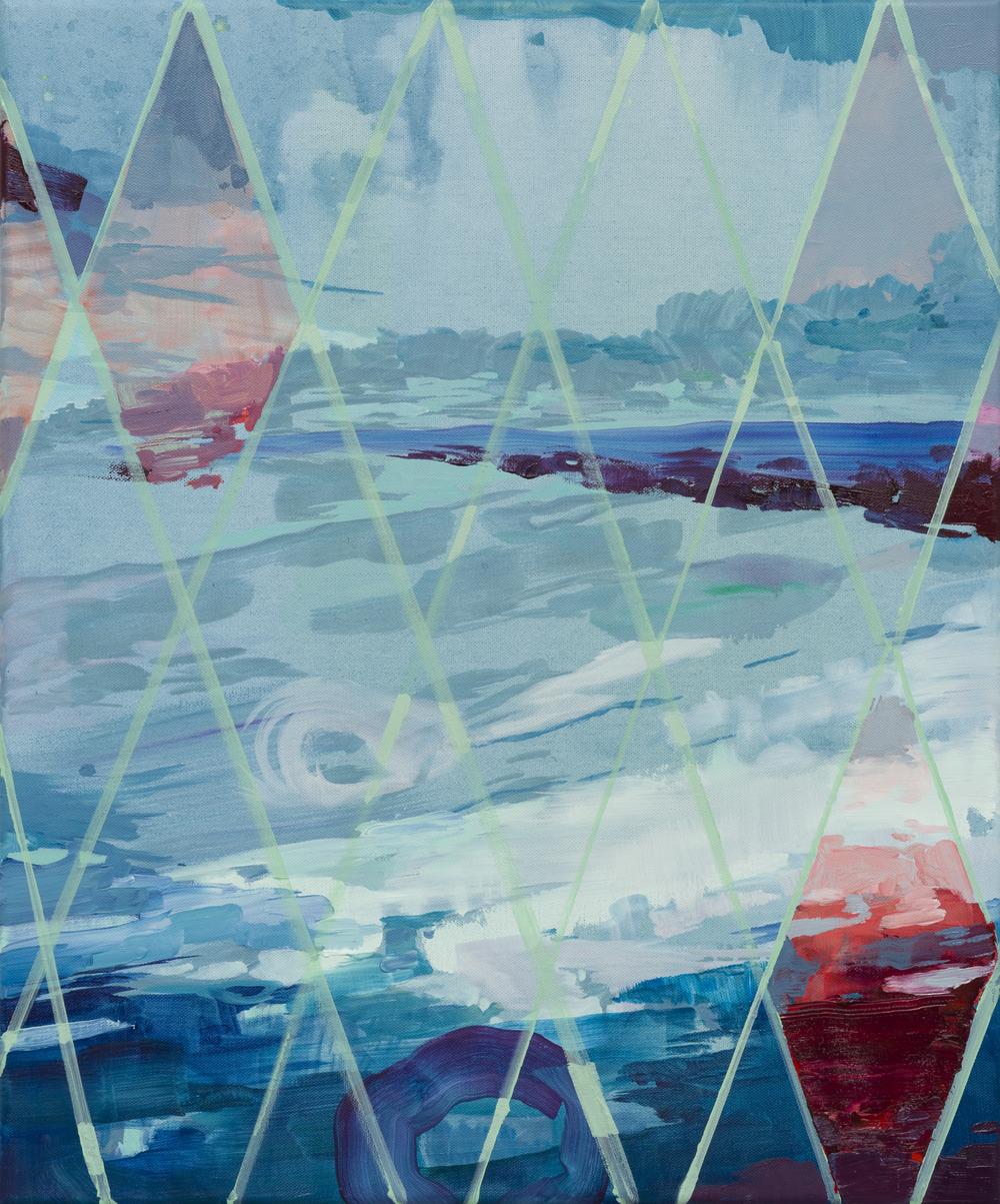 Point, 2015, 60 x 50 cm, oil on canvas