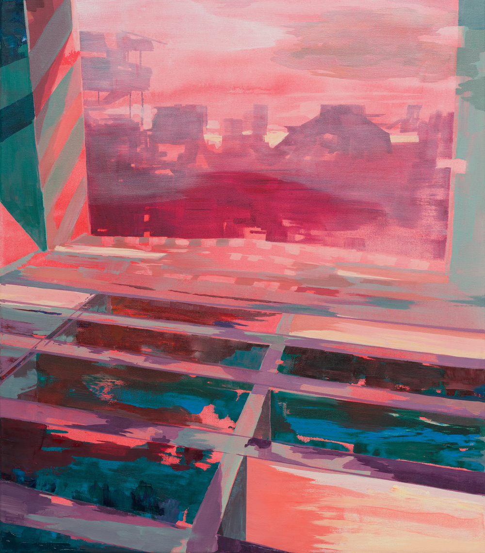 Chamber, 2014, 81 x 70 cm, oil on canvas
