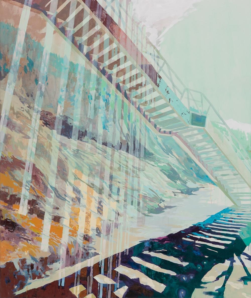 Flight, 2013, 155 x 130 cm, oil on canvas