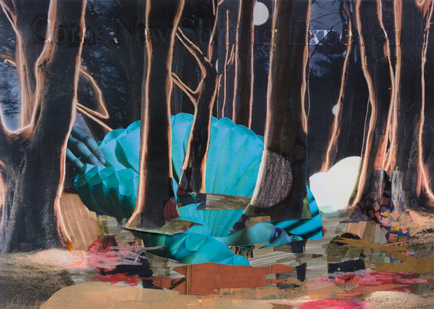 In the Woods, 2012, 41.5 x 58 cm