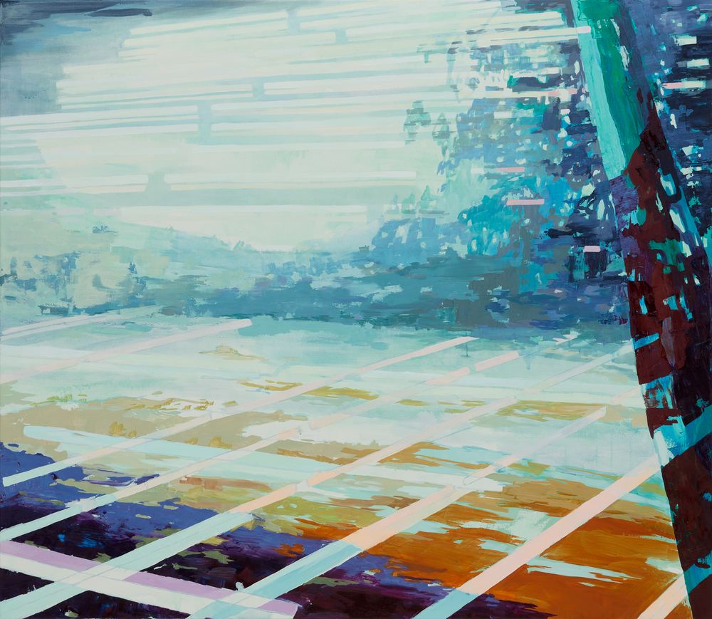 Crossover, 2012, 160 x 140 cm, oil on canvas