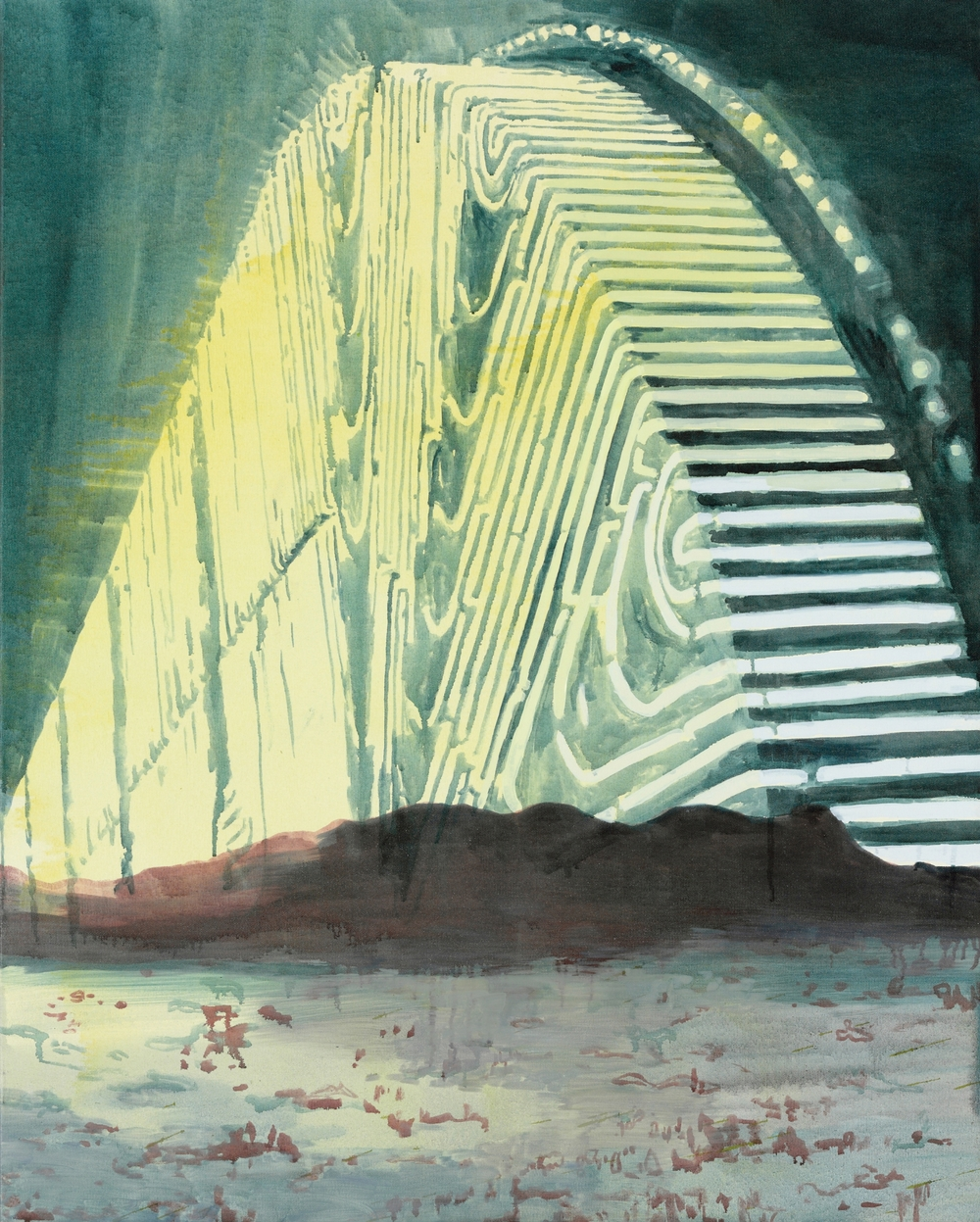 Nightlight, 2010, 100 x 80 cm, oil on canvas