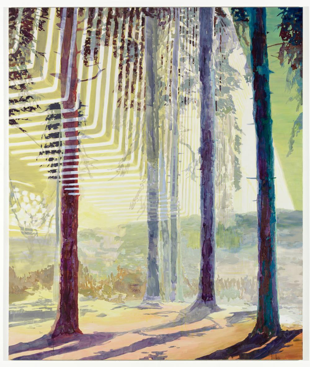Leaf Peepers, 2010, 240 x 200 cm, oil on canvas