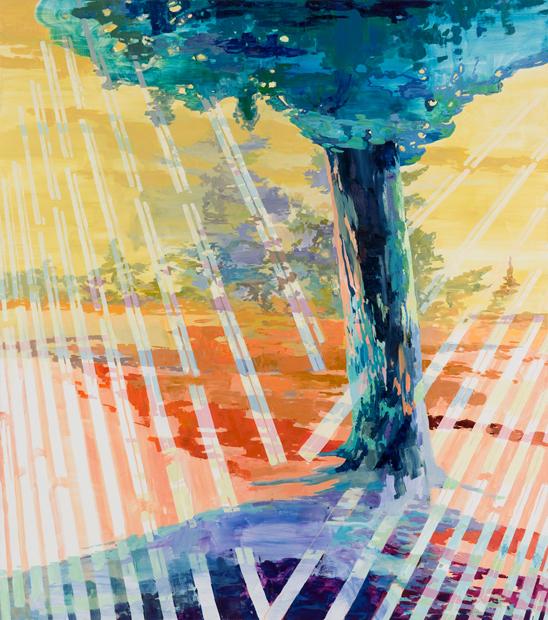 Shape Shifter, 2011 , 225 x 200 cm, oil on canvas