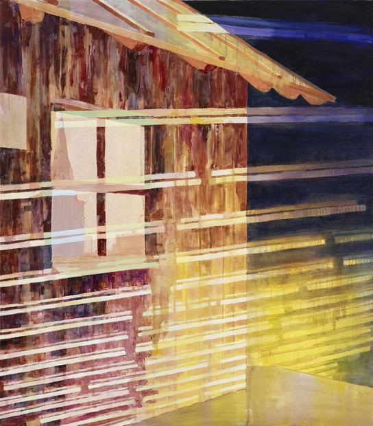 Exposure, 2011, 170 x 150 cm, oil on canvas