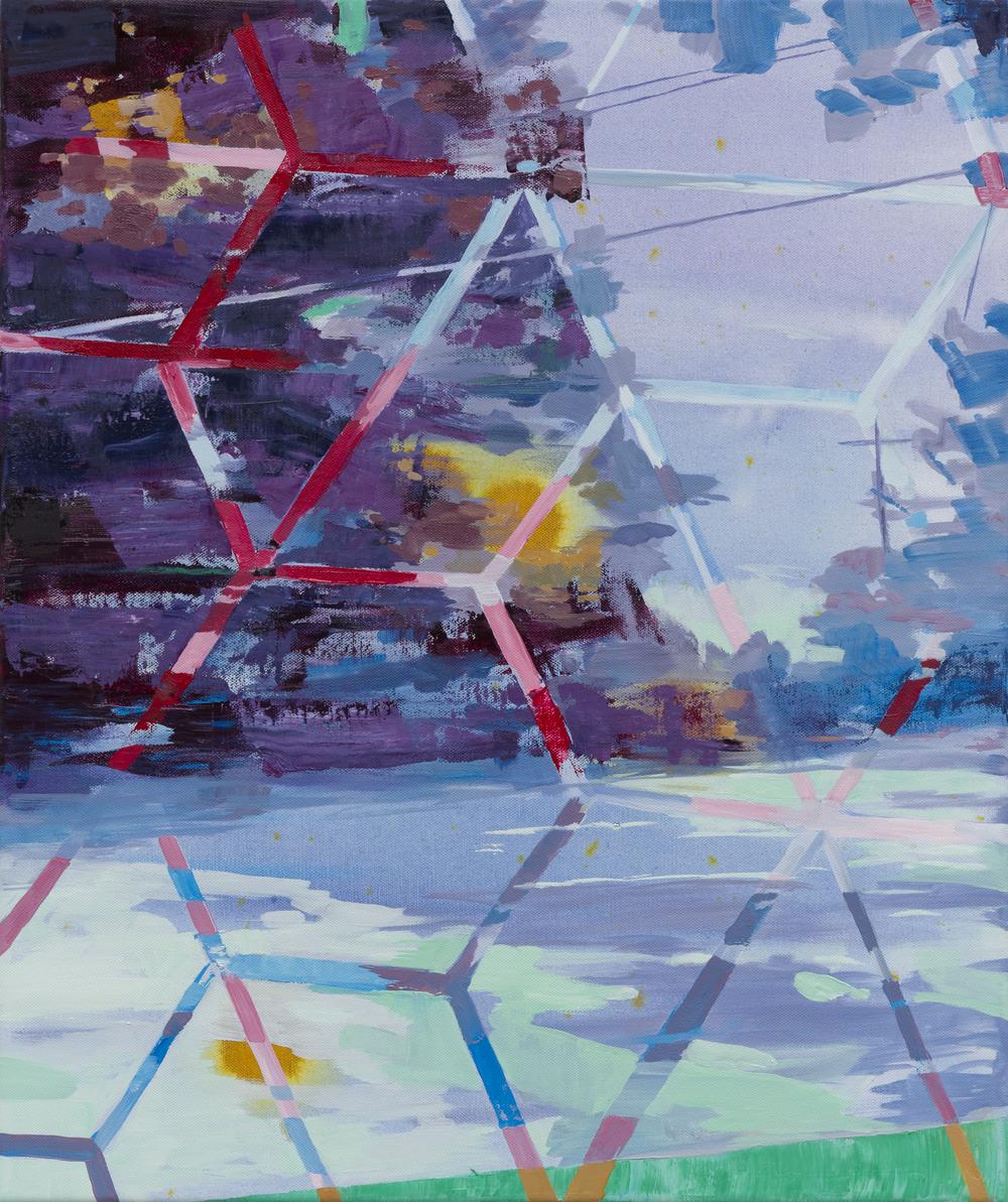 Six, 2015, 60 x 50 cm, oil on canvas