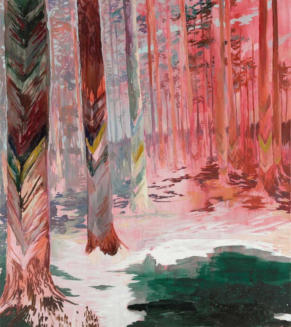 Blaze, 2009, 170 x 150 cm, oil on canvas