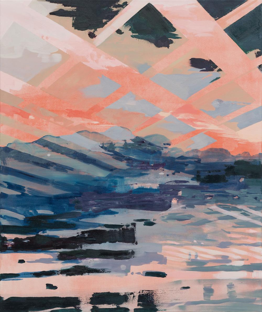 Bridge, 2015, 88 x 74 cm, oil on canvas