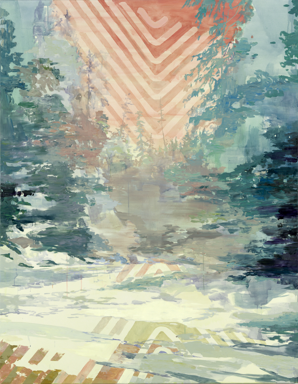 Set, 2011, 180 x 140 cm, oil on canvas