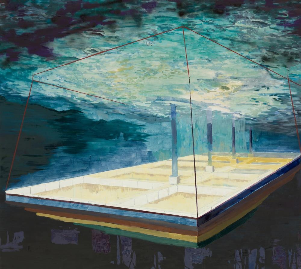 Zapf, 2009, 180 x 200 cm, oil on canvas