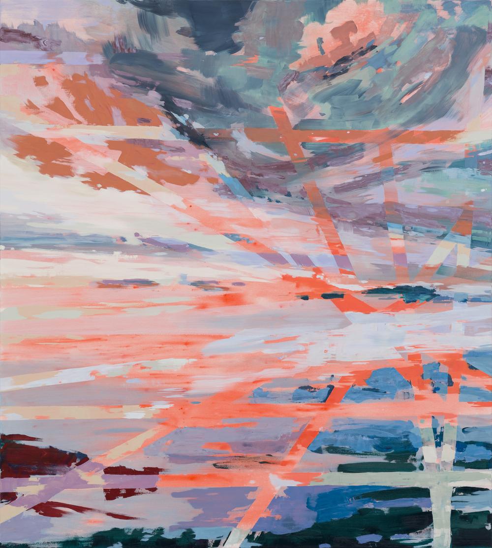 Break, 2016, 200x 180 cm, oil on canvas