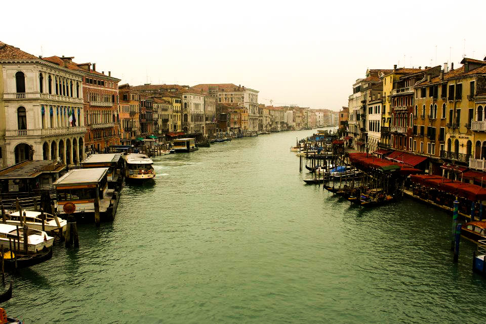 Cities like Venice are ideal for wandering.