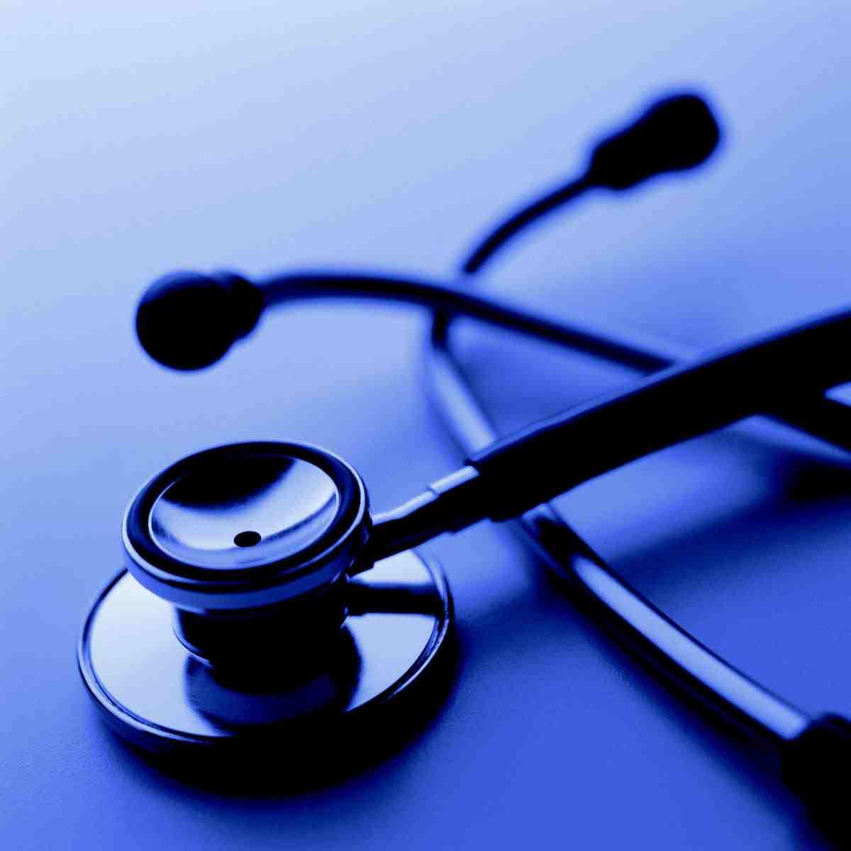 stethoscope blue