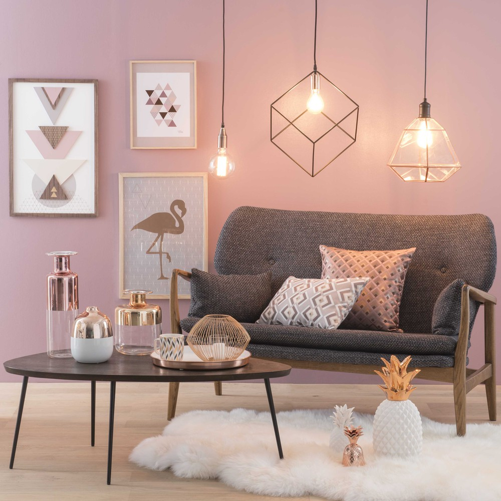 Reinventing scandinavian style this collection in powdery colours with elaborate finishes will fit in with either a vintage or modern chic interior