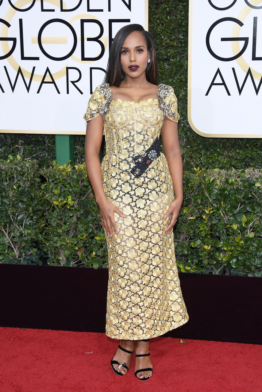 Kerry Washington in Dolce and Gabbana