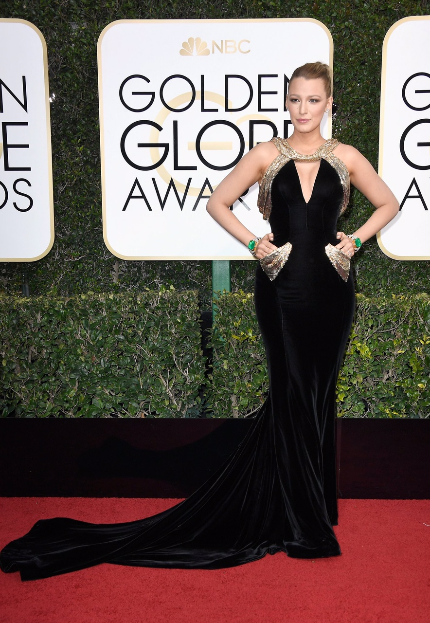 Blake Lively in Versace