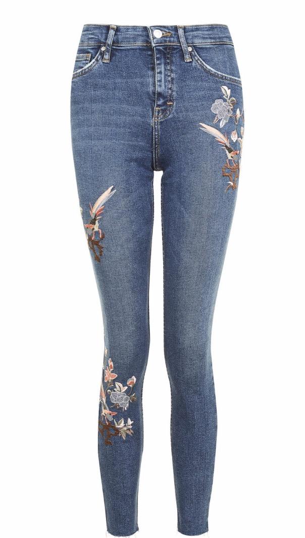 Floral Jeans £58