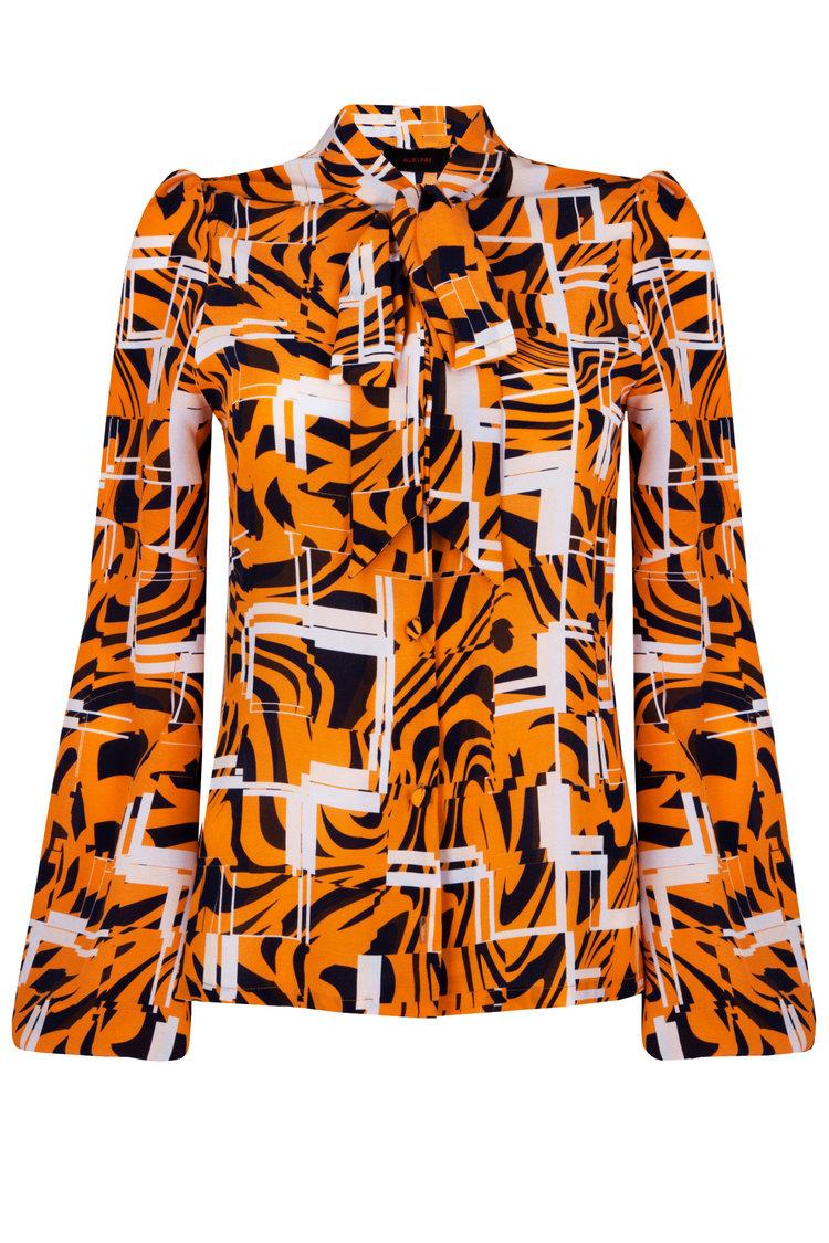Tina Tiger Lines Blouse £265