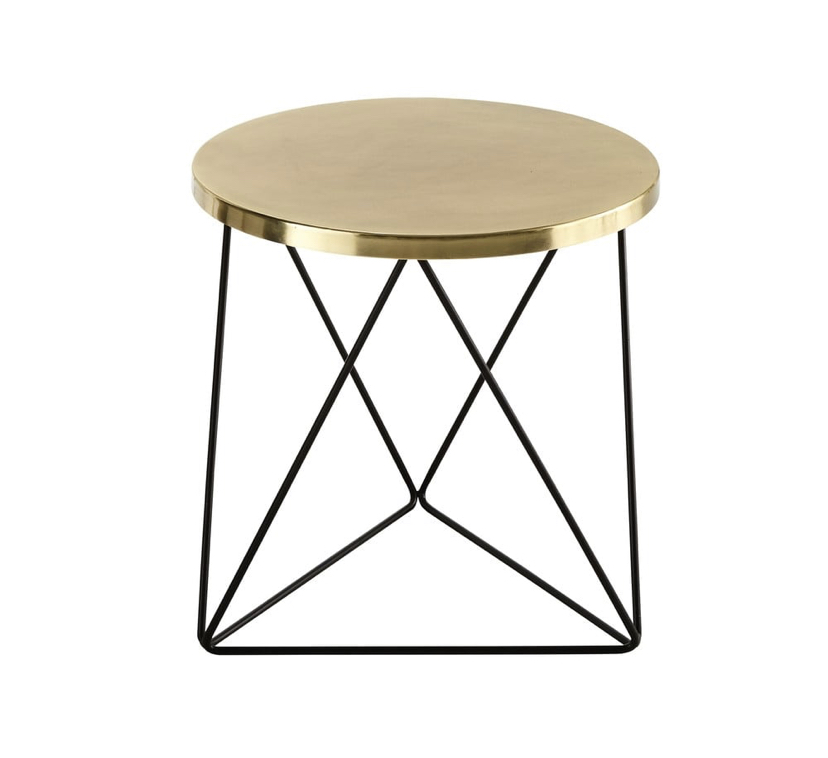 Gold/Metal End Table £91.99