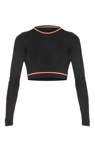 Long Sleeve Contrast Top £15