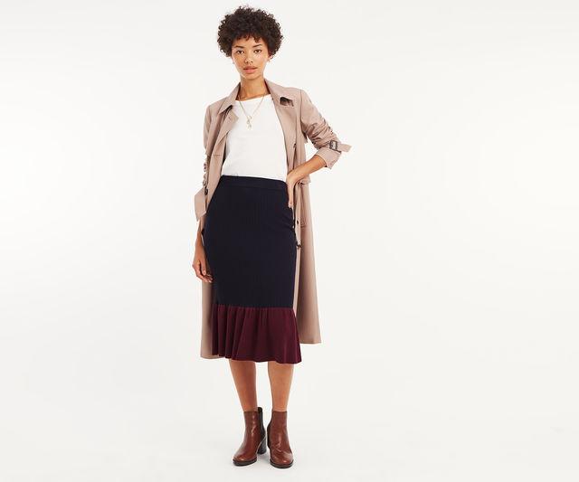 Fran Flippy Hem Skirt £11