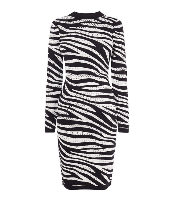 Zebra Knit Bodycon £140