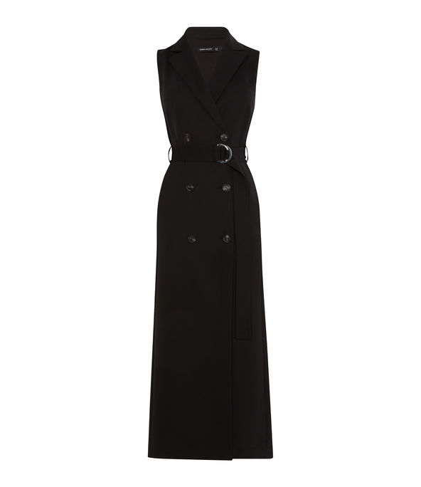 Maxi Tuxedo Belted Dress £199