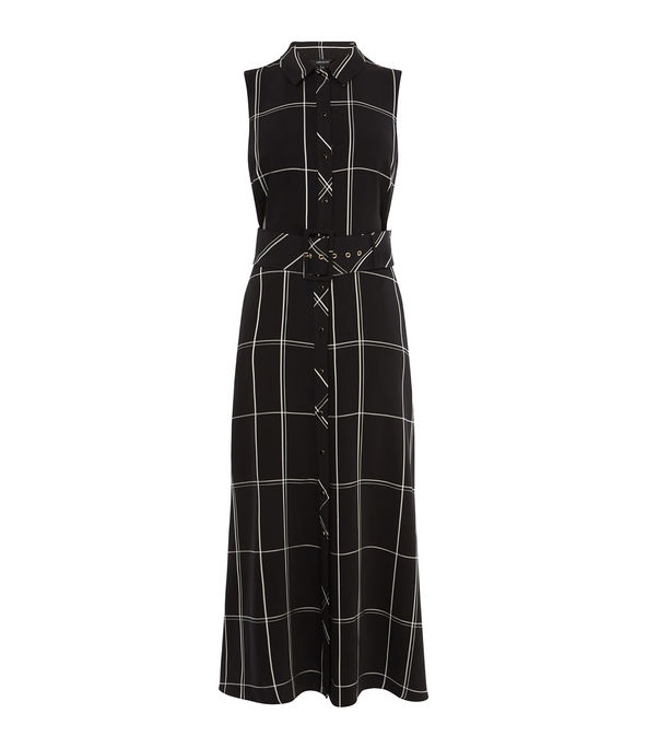Oversized Check Dress £199