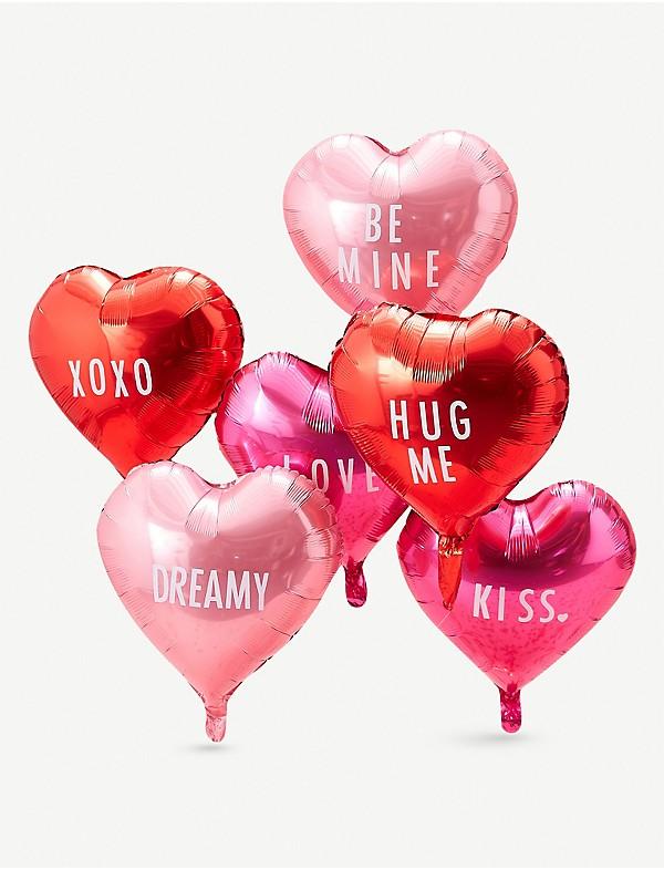 Foil Heart Balloons £5