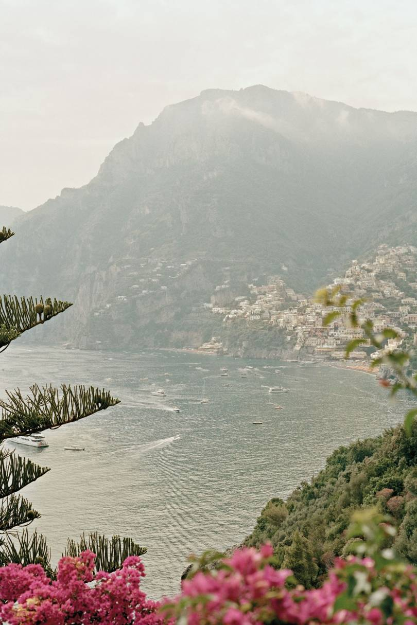 View of Positano from the Il San Pietro di Positano hotel, on the Amalfi Coast.   Credit: Oliver Pilcher