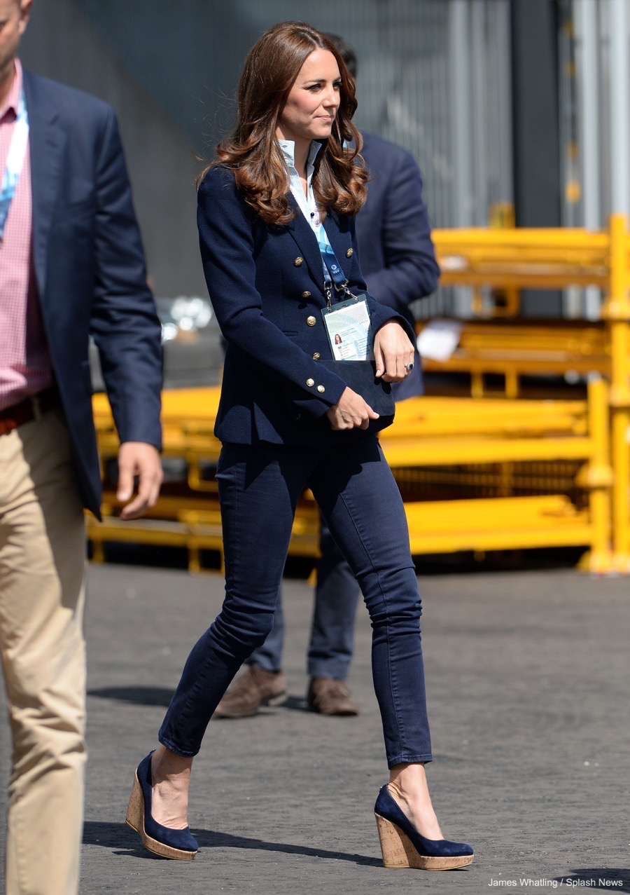 Duchess of Cambridge wears Stuart Weitzman