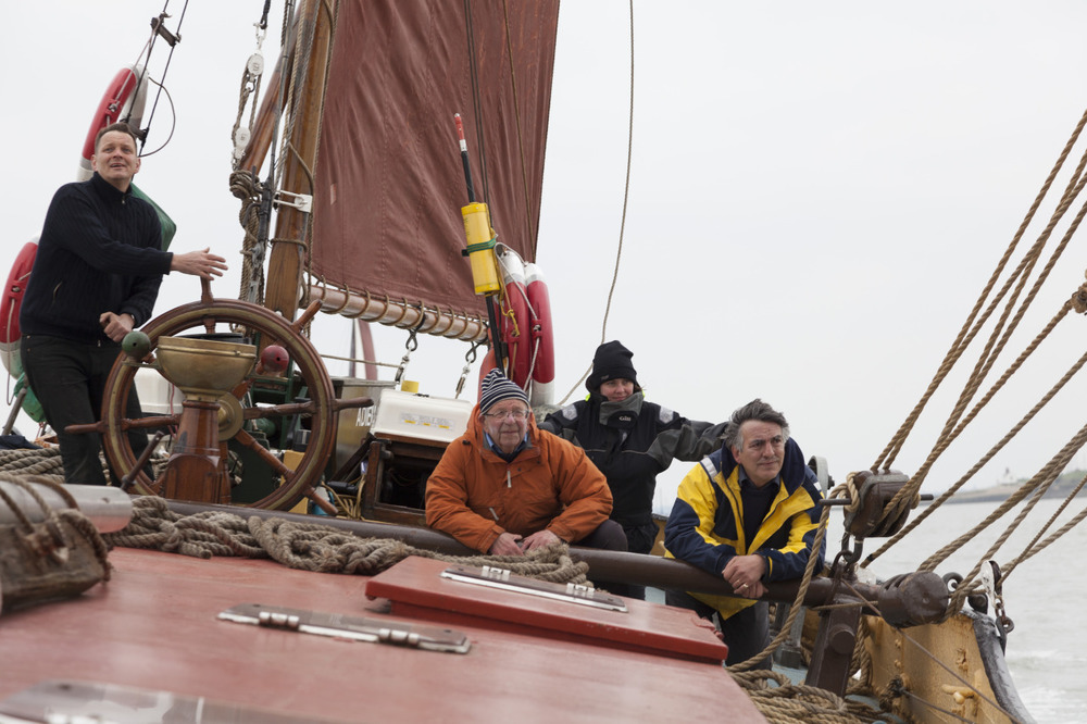 The crew of Thames Sailing Barge Adieu, Medway Race 2013. Looking forward to this season! #thamesbarge #adieu #thamessailingbarge