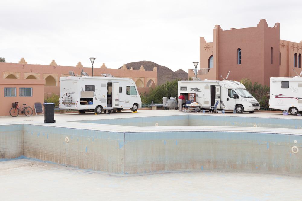 One month ago….   camper van paradise. Tata, Morocco.