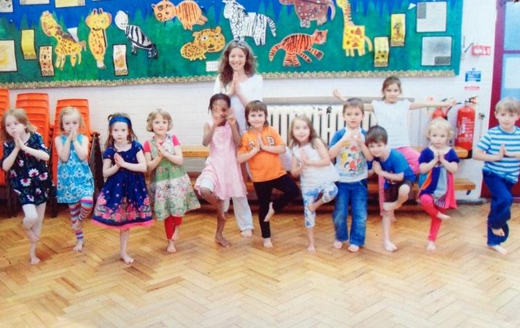 Yoga Class Children Centre