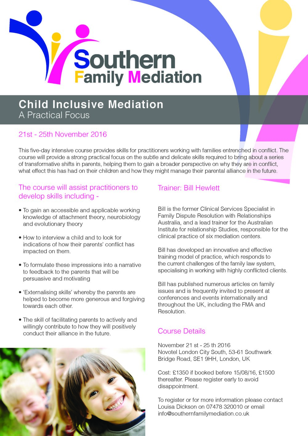 Child Inclusive Mediation Training by Bill Hewlett