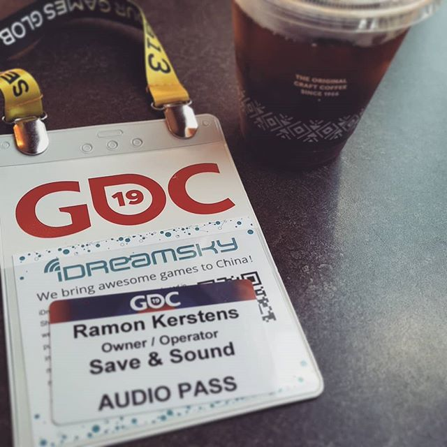 Happy to be reunited with our little #gameaudio tribe at #gdc2019. This is gonna be a good week. #gameaudiogdc #sounddesign #composition