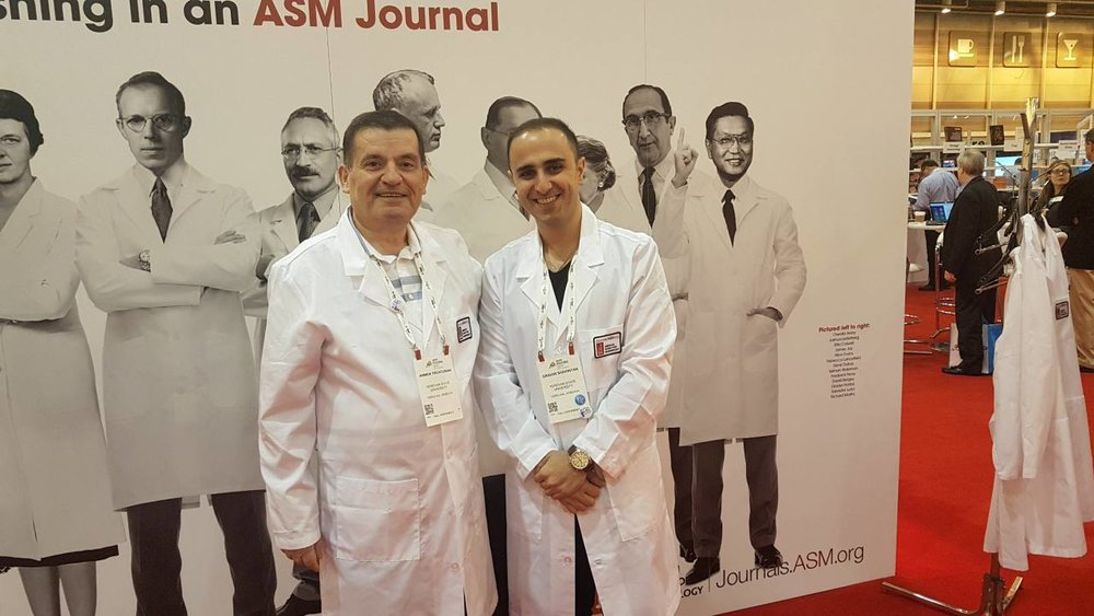 9.microbio 4619 group member Grigor Shahinyan at the ASM microbe 2017 conference, New Orlean.jpg