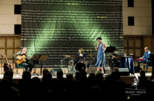 Performance of Where Light Falls,Firth Hall Sheffield